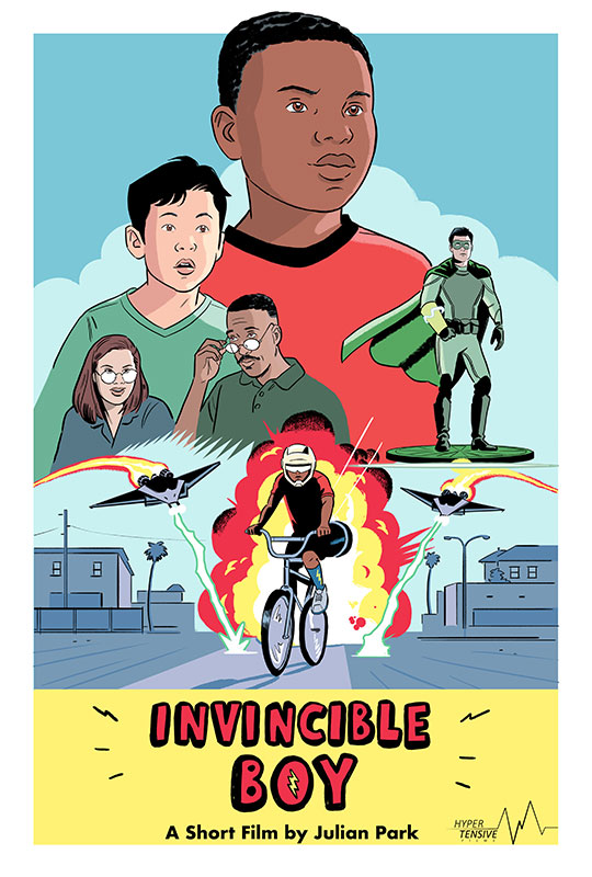 Invincible Boy - official poster